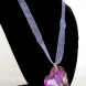 Sugilite Heart Necklace