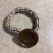 tan knit bracelet