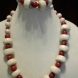 Red and Cream Necklace