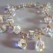 Swarovski Crystal AB Charm Bracelet