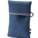 Blue pouch, medium size