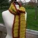 saffron & mahoghany scarf