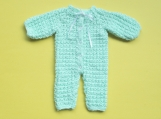 Hand-Knitted Baby Jump Suit (Green)