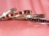 Sterling/14 K Gold-filled Bangles