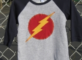 Lightning Bolt Raglan