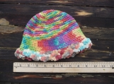 Colorful Crochet Baby Hat