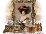 "Victorian Lady  Collage Quilt  Block 8.5"" x 11""  #14-0093"