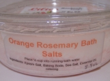 Orange Rosemary Bath Salts