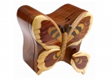 Butterfly Jewelry Box Puzzle Box