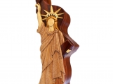 Statue of Liberty Rosewood Puzzle Box