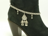 DC109 Silver and Gray Boot Chain