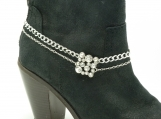 DC118 Rhinestone Bling Boot Chain