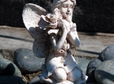 GUARDIAN FAIRIE / FAIRY - 8 x 10 Original Print Signed - Cemetery Photography