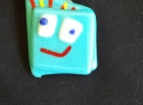 Blue Smiley Face