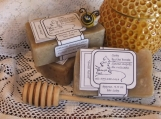 Sweet Relief, Kukui/Oatmeal/Honey unscented handmade cold process soap