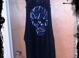 The #Moxie Dress - A Maxi Tank Dress in Skulls & Lace Tank