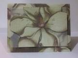 3D Ivory Flower Note Card Keepsake