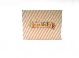 Friendship Multi-Color Striped Note Card Keepsake