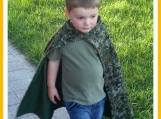 Reversible Cape for kids
