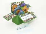 Flowers in a Box Card - Any Occasion