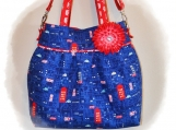 Tootles Boutique Bag - Cool Britannia Designer Fabric