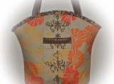 Tootles Boutique Bag - Dehli Brown Valorie Wells Designer Fabric