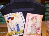 Tootles Boutique Bag - Denim Loralie Harris Lady Golfers