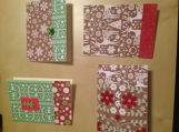 """""""Browns and Greens"""" Card Set"""