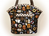 J Castle Designs Bag - Anchors Aweight Nautical Boat Designer Fa