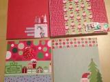 """""""Santa and His Friends"""" Card Set"""