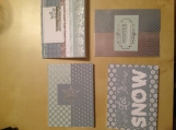 """Winter Wonderland"" Card Set"