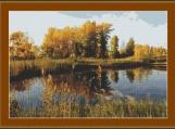 Autumn Day Cross Stitch Pattern