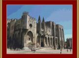 Avignon, France Cross Stitch Pattern