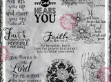 Faith, God Hears You Digital Word Art and Image Set