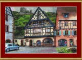 Kaysersberg Houses Cross Stitch Pattern