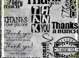 Thank You, Word Art Mega Bundle