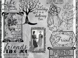 Friend Like You Digi Word art and Image Set