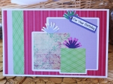 Colorful Birthday Present Card for Her