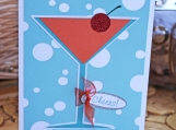 Fancy Cocktail Celebration Card