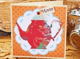 Vintage Teapot Card for Mom - Mother's Day, Mom's Birthday