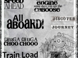 """All Aboard"" Digi Image and Word Art Set"