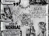 """Go Ask Alice"" Digi Image and Word Art Set"
