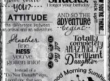 """Medley of Sayings #10"" Digi Image and Word Art Set"