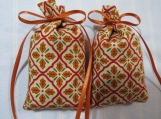 "Autumn/Thanksgiving Ecru 3""X2"" Sachet-'French Market' Scent-617"