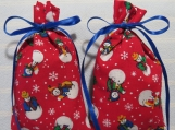 "Winter Red 4""X2"" Sachet-'Old Fashioned Christmas' Fragrance-011"