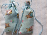 Easter Blue 3X2 Sachet-'Baby Powder' Fragrance-Cindy's Loft-404