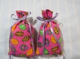 Easter Pink 3X2 Sachet-'Fruit Slices' Fragrance-Cindy's Loft-576