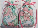 "Green 3""X2"" Sachet-'English Garden' Fragrance-Cindy's Loft-254"