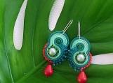 Soutache earrings - Pixie