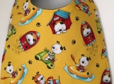 Toddler Bib:  Puppy Dogs At Play